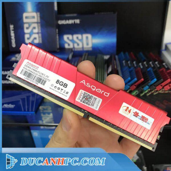 Ram DDR4 ASGARD 8Gb Bus 2666 - Ram tản nhiệt