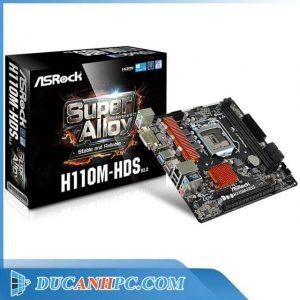 Main Asrock H110M-HDS (mATX)