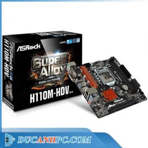 Main ASROCK H110M-HDV (mATX)