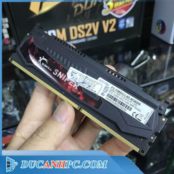 RAM DDR3 GSkill SNIPER 4Gb BUS 1600