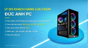 Lý do mua PC tại DUCANHPC