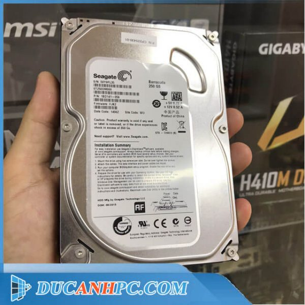 Ổ cứng HDD Seagate 250Gb