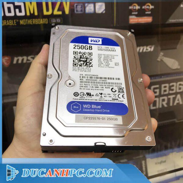 ổ cứng HDD Western 250Gb
