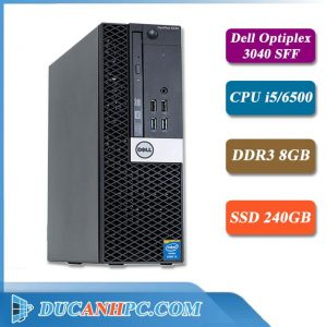 Máy Tính Để Bàn Dell Optiplex 3040 I5 6500 Ram 8Gb SSD 240Gb