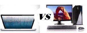 Máy tính văn phòng dùng laptop hay máy tính để bàn