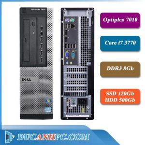 Dell PC Optiplex 7010 I7 3770 Ram 8Gb SSD 120Gb HDD 500Gb
