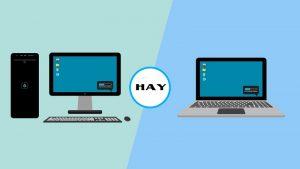 Máy tính văn phòng nên dùng laptop hay máy tính bàn