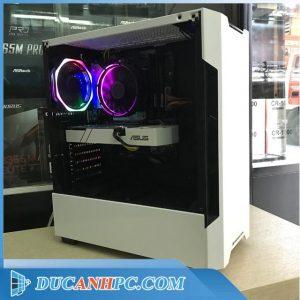 Pc gaming giá rẻ I5 4570 main h81 ram 8gb vga 750ti ssd 120gb