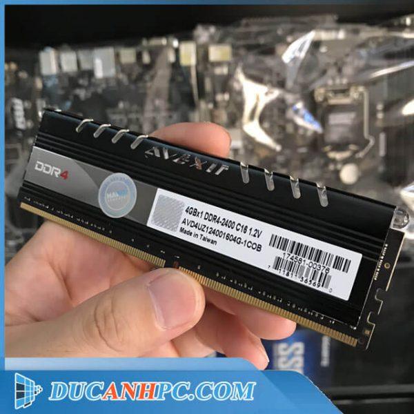 RAM DDR4 AVEXIR 4GB BUS 2400Mhz