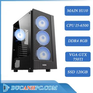 PC GAMING Cũ (Core i5-6500/ H110/ 8Gb/ GTX 750ti/ SSD 120Gb)