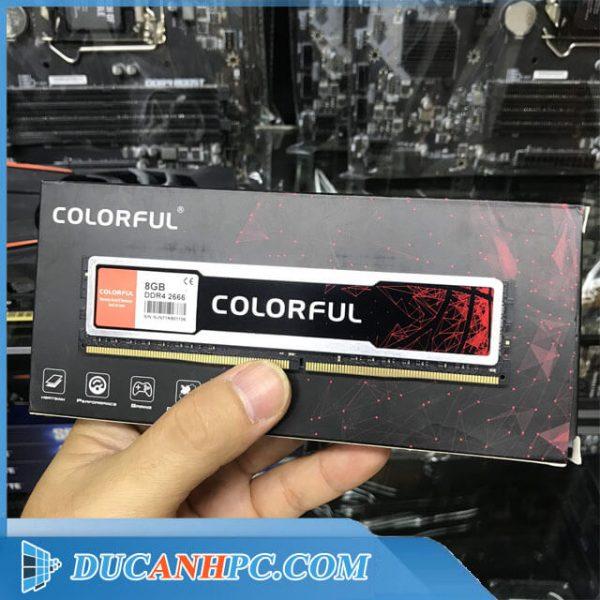 RAM DDR4 COLORFUL 8GB BUS 2666