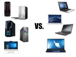 Sinh viên nên mua Laptop hay máy tính để bàn